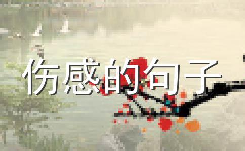 2013最新伤感句子